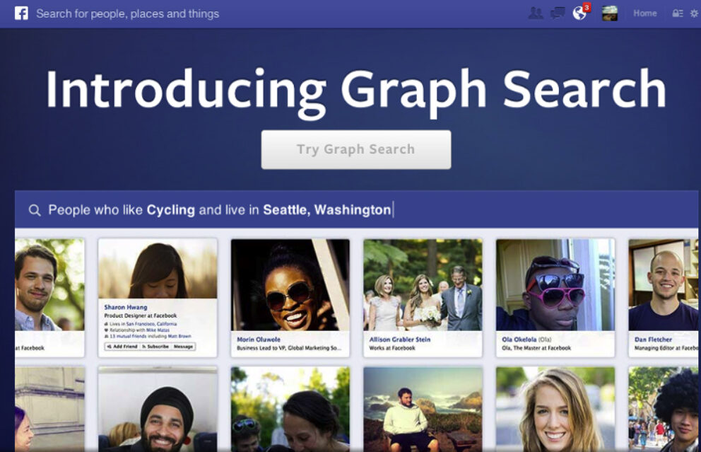 Facebook Graph Search: Präsentation von Facebook